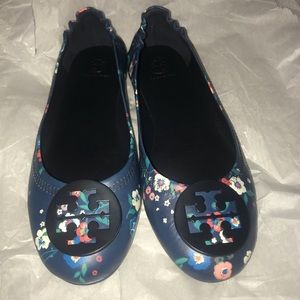 Tory Burch Miller Flats (Pansy floral)